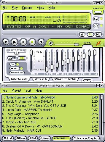 Playlist Renstra 2009